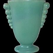 Redwing Rumrill Art Deco Ball Handle Vase