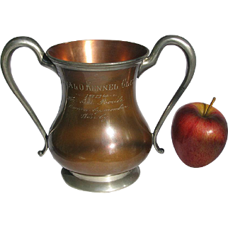 Antique Poodle Trophy Best Poodle in Buffalo 1904