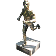Track and Field Trophy Figural Running Sprinting Relay Hurdling Trophy
