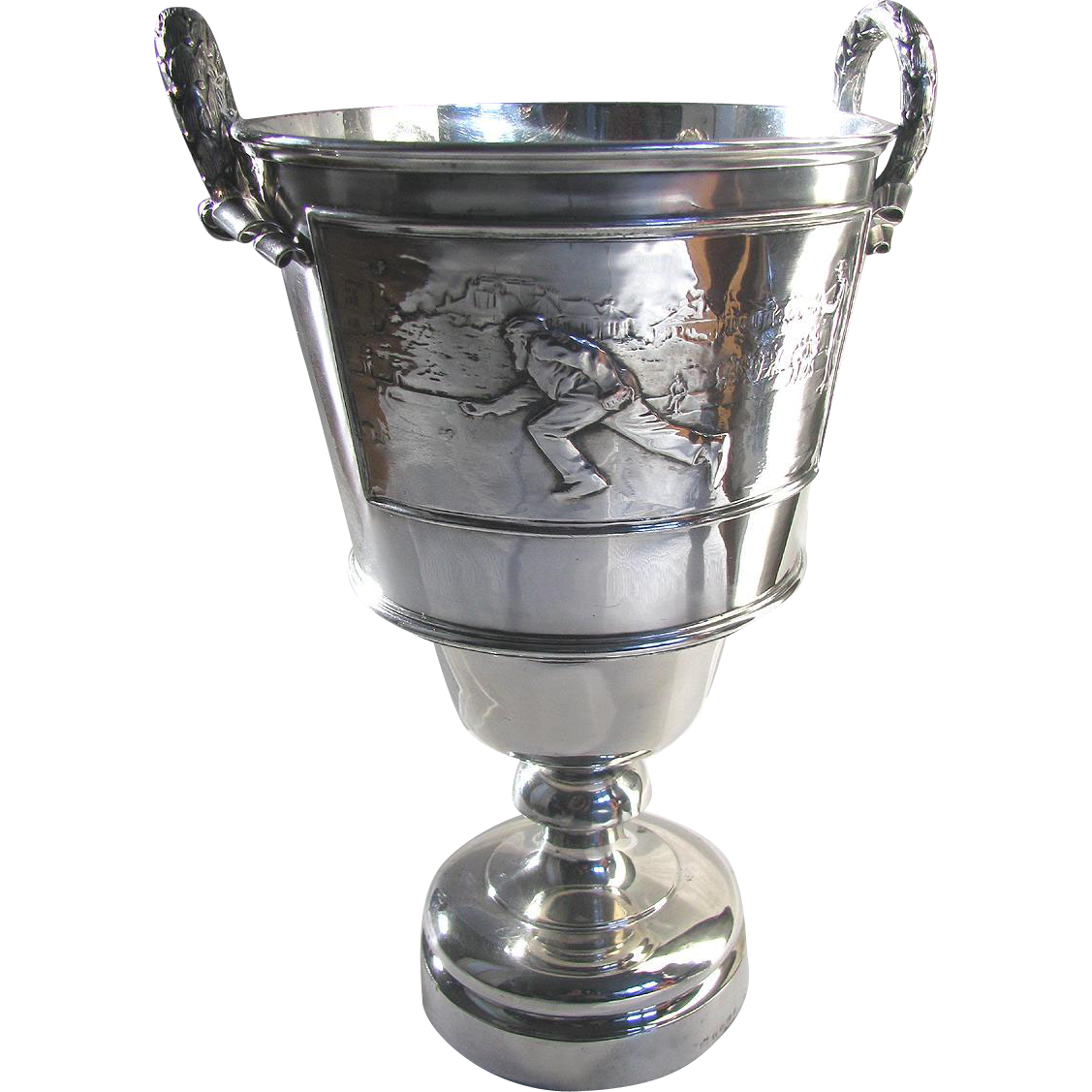 Antique Silver Trophy Ottawa Country Club Lawn Bowling c1910