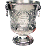 Antique Collegiate Trophy 1895 Track and Field University of Toronto