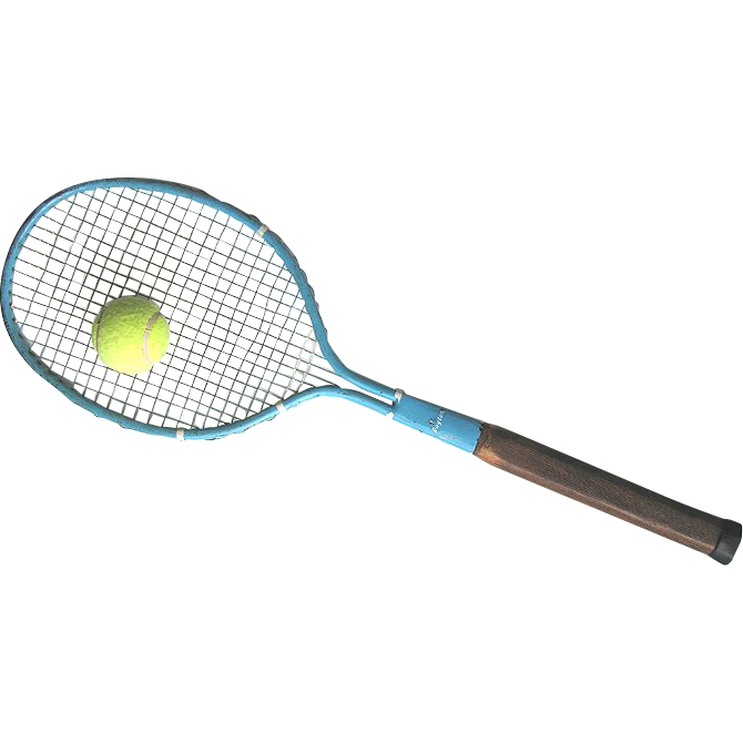 "Steel String Tennis Racket - c1925 - Dayton ""Cadet""  All Original"