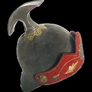Odd Fellows Hammer Helmet Ceremonial Fraternal Regalia