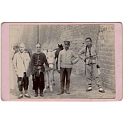 Photo China German Boxer Rebellion Cabinet Card c1900 - Card 1 of 2