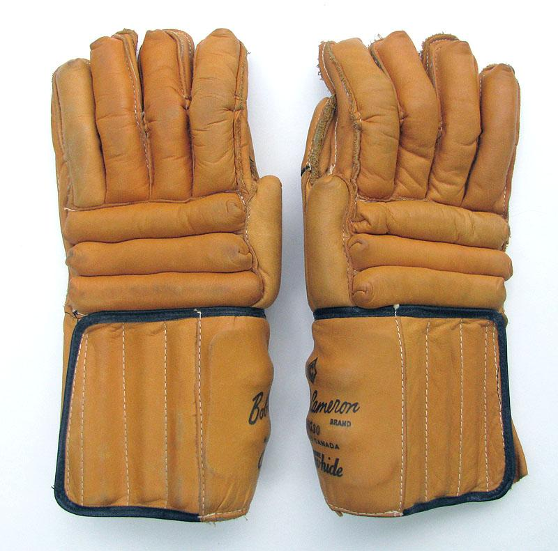how to clean leather hockey gloves
