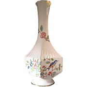 Aynsley Pembroke Square Vase - Finest English Bone China