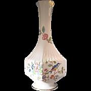 Aynsley Pembroke Square Vase - Finest English Bone China