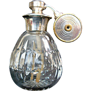 "Marcel Franck ""Escale"" Travel Atomizer - Sterling Silver and Crystal - Made in France"