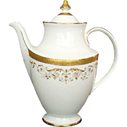 "Vintage Royal Doulton ""Belmont"" Coffee Pot"
