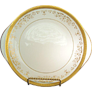 "Royal Doulton ""Belmont"" - H4991 - Handled Cake Plate"