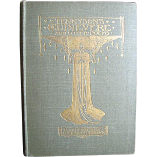 """First Edition - Tennyson's """"Guinevere and Other Poems"""" - 1912"""