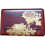Japanese Lacquer Box - Late 19th - Early 20th Century - Meiji -Artist Signed