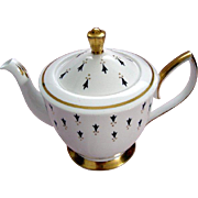 "Vintage Royal Albert ""Ermine"" Tea Pot - c1950"