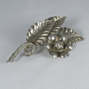 Handmade Sterling Brooch