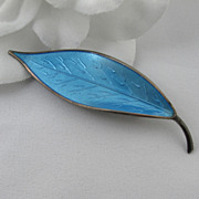Mid-Century David Andersen Sterling Brooch