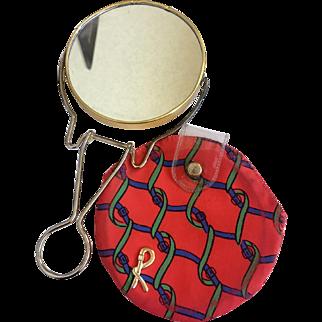 Rare Roberta di Camerino Vanity Case with Magnifying Make-Up Mirror