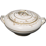 Noritake ''Esteem'' Lidded Sugar Bowl