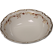 Beautiful Royal Doulton Bone China Fruit/Dessert Bowl in the Strasbourg Pattern.  Measures 5 1/2''.