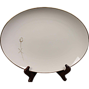 "Noritake ""Nora"" Oval Serving Platter"