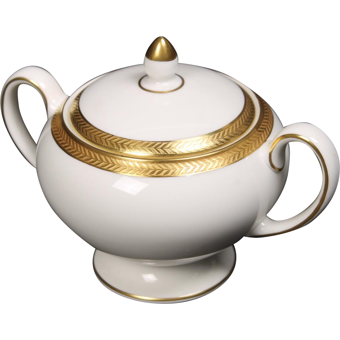 Wedgwood ''Senator'' Lidded Sugar Bowl