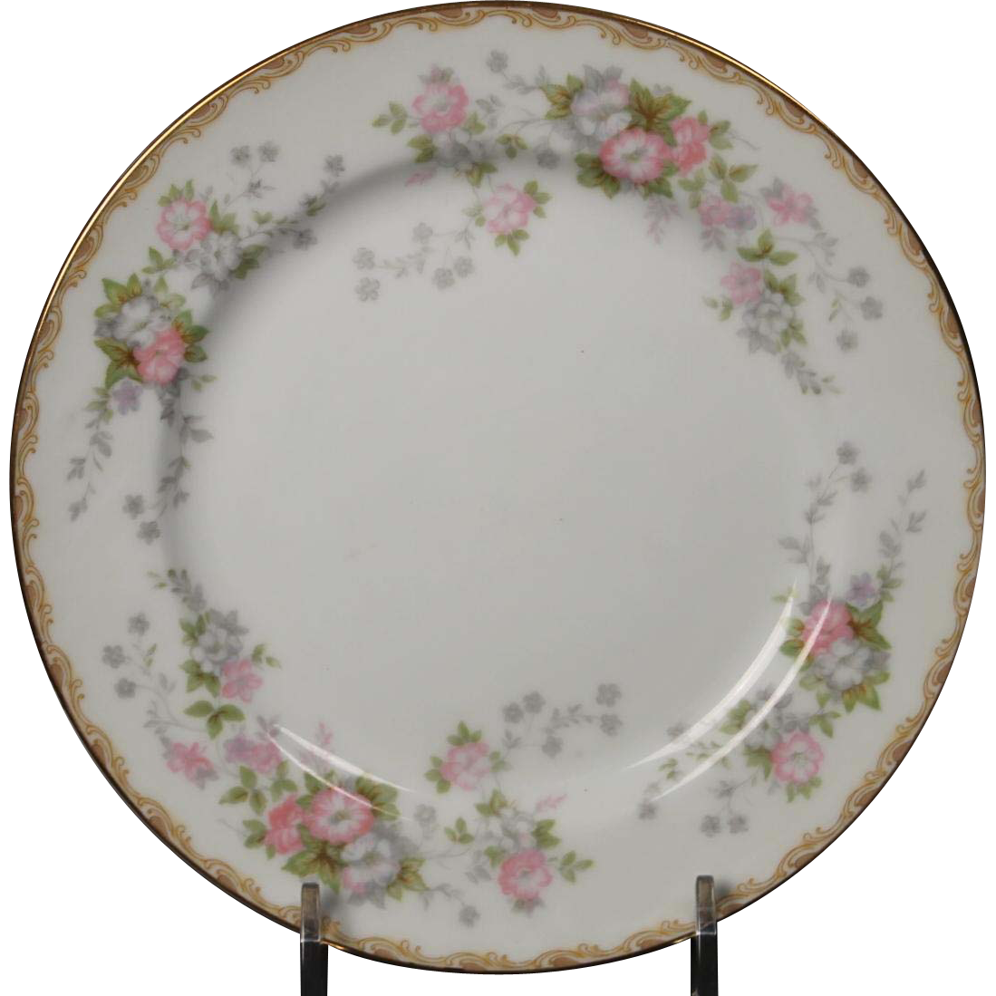 Noritake ''Petite Fleur'' Bread and Butter Plate.  6-3/8''