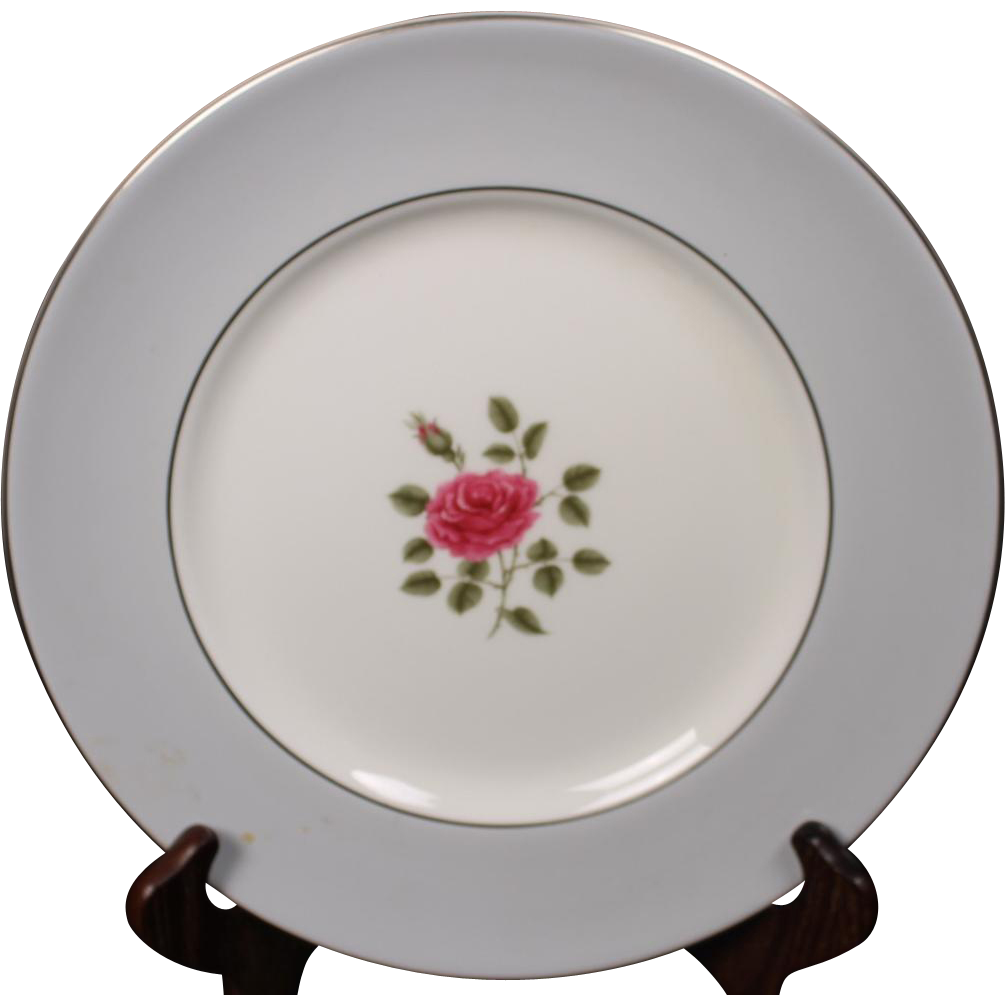 Royal Doulton ''Chateau Rose'' Dinner Plate.  10-1/2''