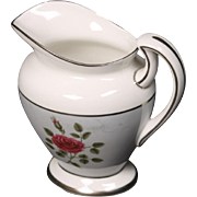 Royal Doulton ''Chateau Rose'' Creamer.  Very Small Chip on Rim.  4-1/2''