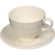 Wedgwood ''Edme'' Cup and Saucer.  2 3/4''