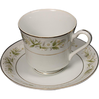 Morimura (Noritake) Fine China of Japan ''Pembrook'' Cup and Saucer.