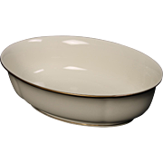 Lenox ''Urban Lights'' Oval Vegetable Bowl.  10''