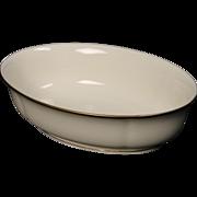 Lenox ''Urban Lights'' Oval Vegetable Bowl.  10''