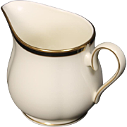 Lenox ''Urban Lights'' Creamer.  3-3/8''