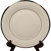 Lenox ''Solitaire'' Dinner Plate.  10-3/4''