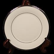 Lenox ''Solitaire'' Salad Plate.  8''