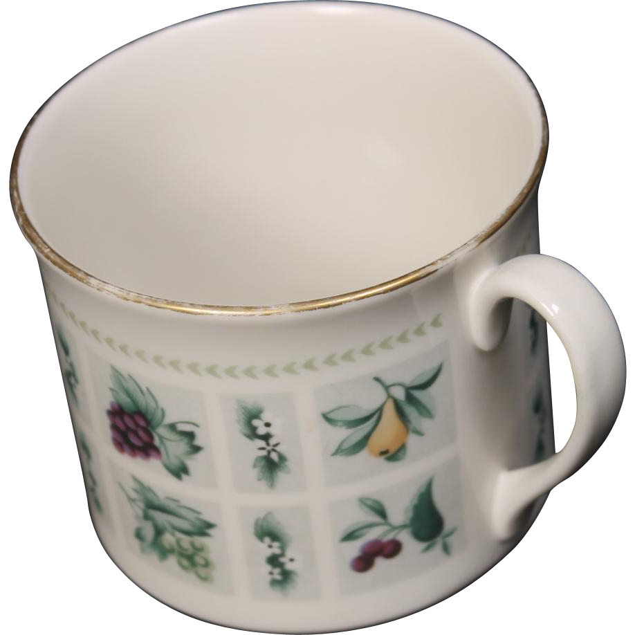 Royal Doulton ''Tapestry'' Demitasse Cup.  2-1/2''