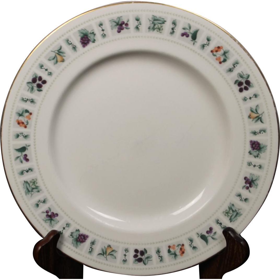 Royal Doulton ''Tapestry'' Dinner Plate.  10-1/2''