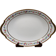 Raynaud & Co. Limoges Oval Serving Platter