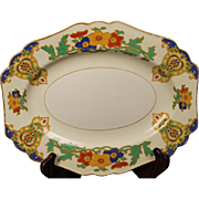 Beautiful John Maddock & Sons ''Minerva'' Oval Platter from England.