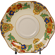 Beautiful John Maddock & Sons ''Cairo or Minerva'' Saucer from England.