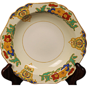 Beautiful John Maddock & Sons ''Cairo or Minerva'' Rimmed Soup Bowl from England.