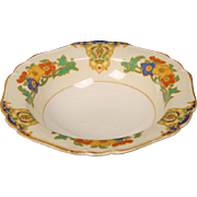 Beautiful John Maddock & Sons ''Cairo or Minerva'' Rimmed Cereal Bowl from England.