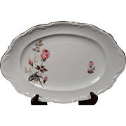 Mitterteich Oval Serving Platter pattern is unknown.