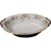 Beautiful Noritake ''Petite Fleur'' Oval Serving Bowl.