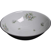Beautiful Fanconia ''Silver Thistle'' Round Vegetable Serving Bowl.
