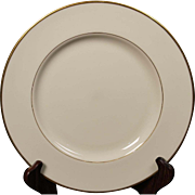 Beautiful Lenox ''Mansfield'' Dinner Plate.