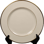 Beautiful Lenox ''Mansfield'' Salad Plate.