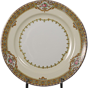 Beautiful ''Annette'' pattern Bread and Butter Plate by Meito China.
