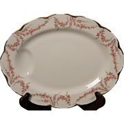Beautiful ''Varenne'' pattern Oval Serving Platter by Theodore Haviland