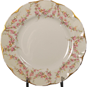 Beautiful ''Varenne'' pattern Bread and Butter Plate by Theodore Haviland