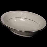 Beautiful Noritake Oval Serving Bowl in the ''Sorrento'' Pattern.